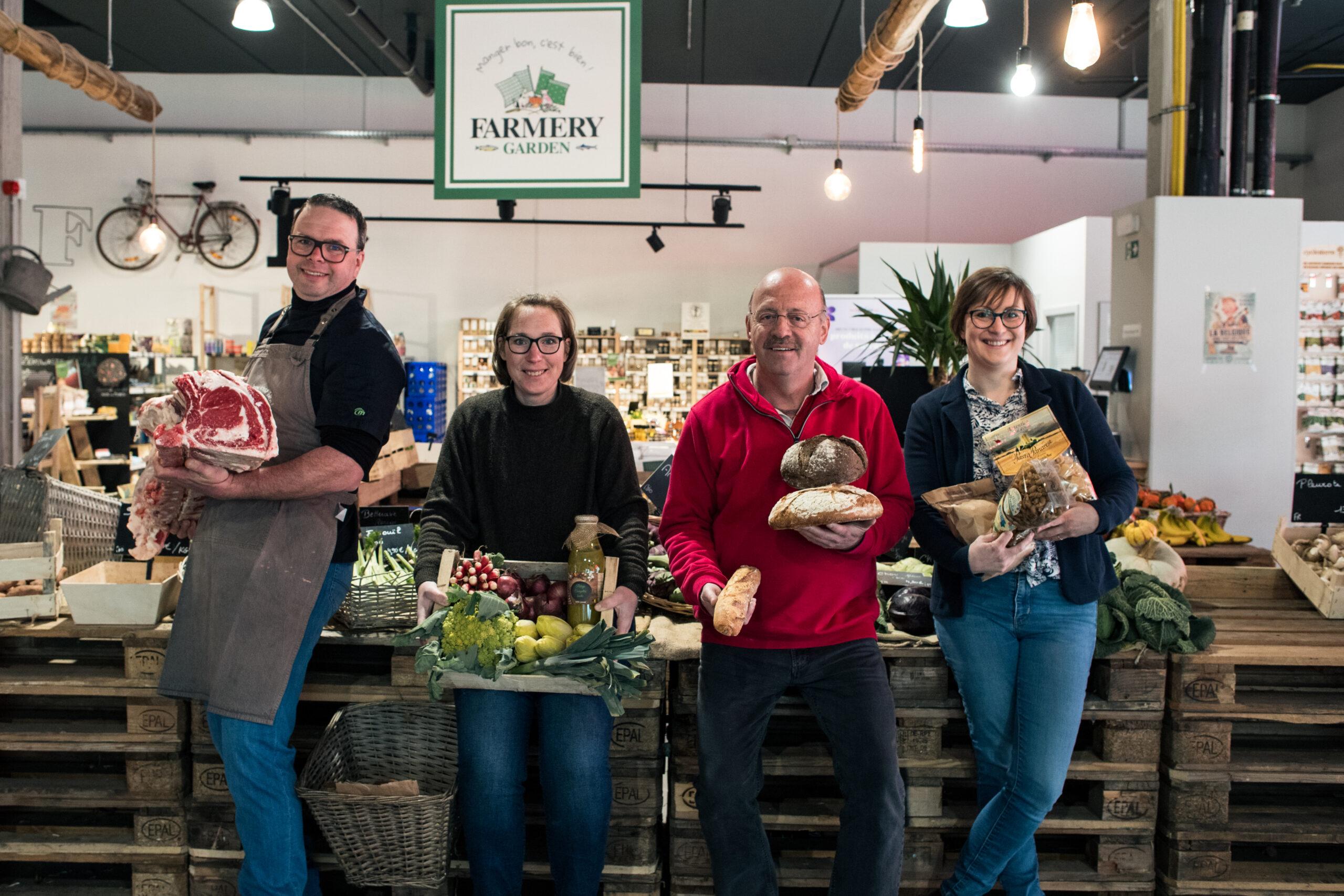 Équipe de Farmery Store